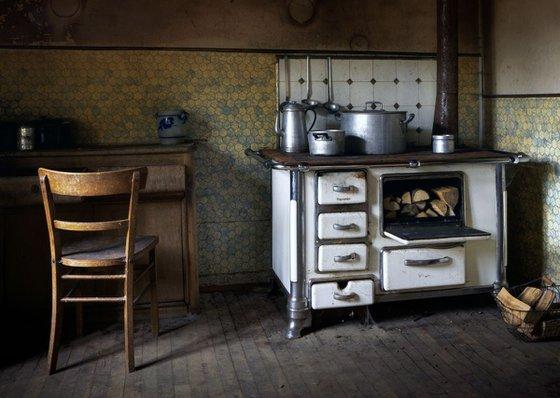 Abandoned Farm Kitchen