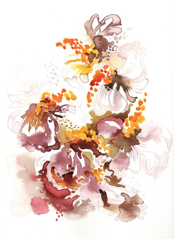 Floral Abstraction. Spring