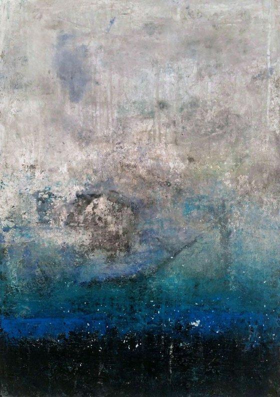Landscape (Seascape) by Jane Efroni at Urban Village Studio