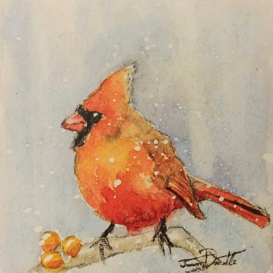 Red Cardinal BirdBox