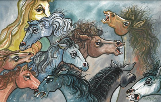 "Horses ""Wild and Free"""