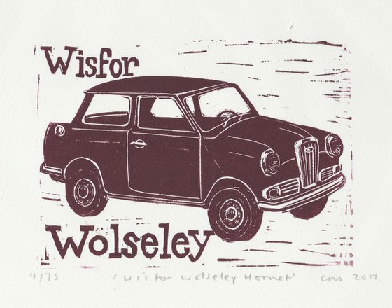 W is for Wolseley