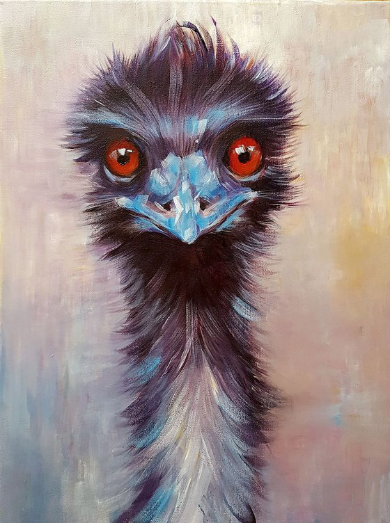 Elton the Emu