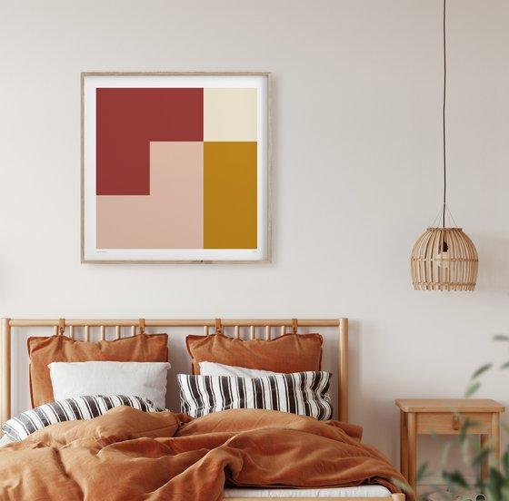 Astris (Geometric Print)
