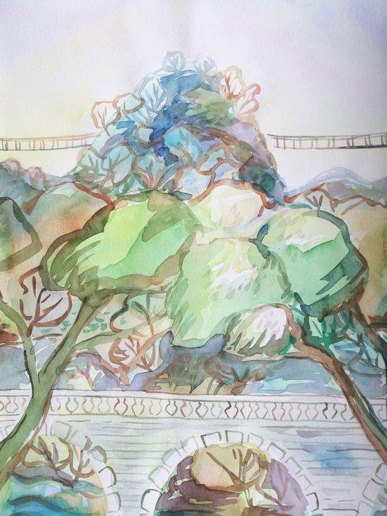 Painting   Watercolor   Spring II