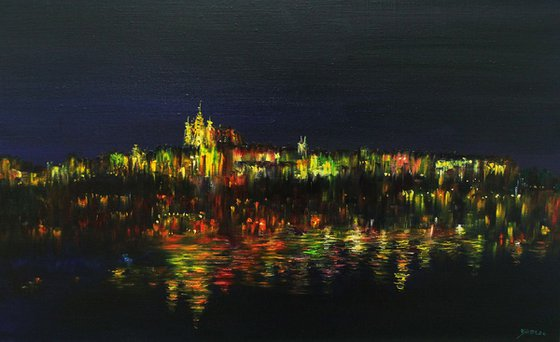 Prague - Colored with Light 2