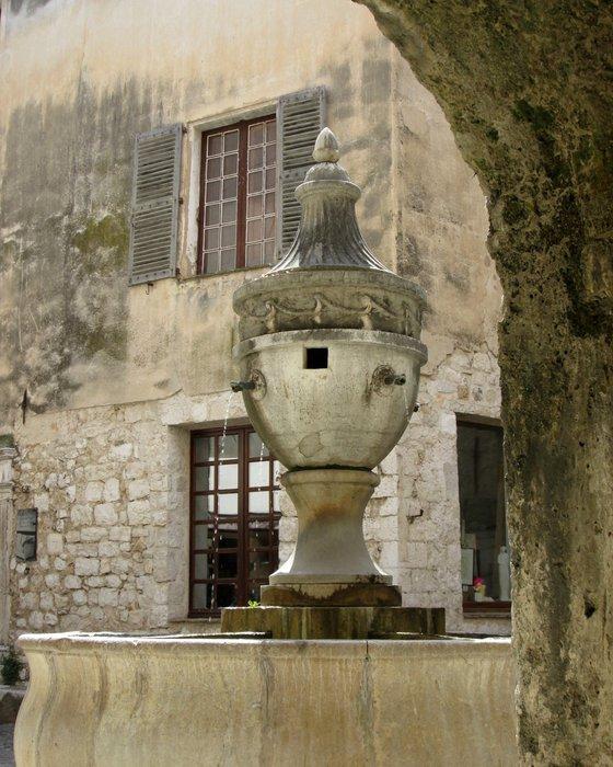 Fountain, St Paul de Vence, France
