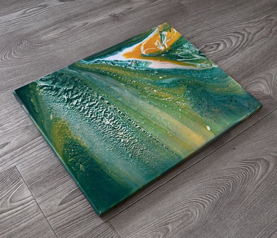 """""""Okean breeze"""" Acrylic painting  40 X 30 cm(Ready to hang)"""
