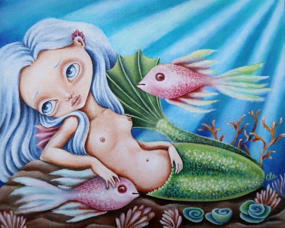 Reclining Mermaid