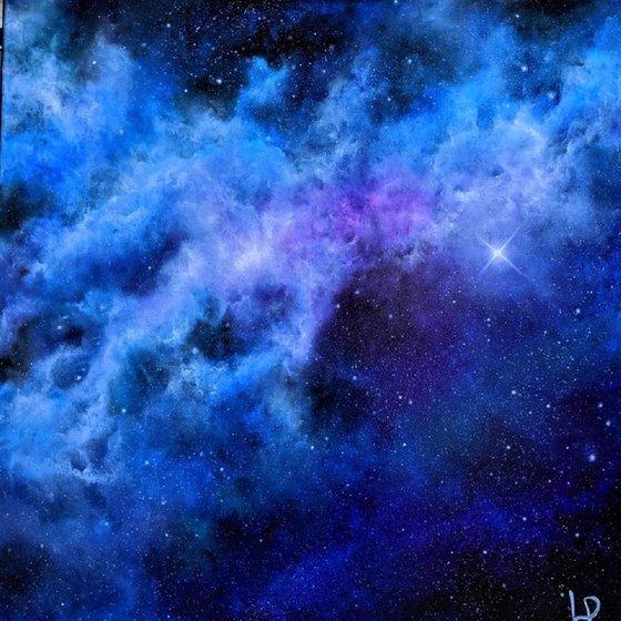 Shine Like A Star - Space Art