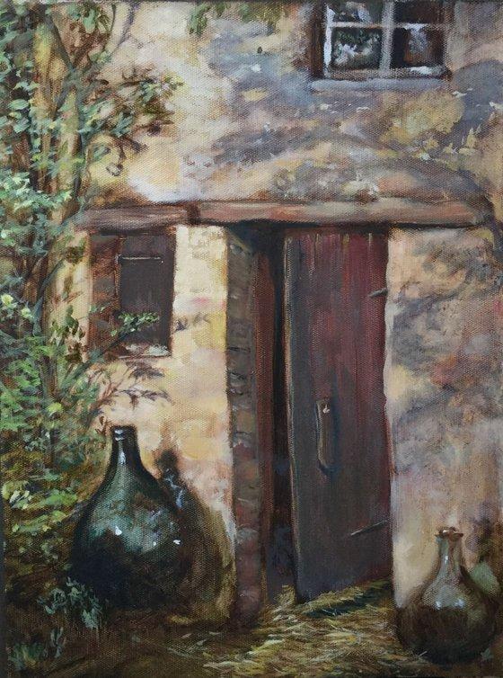 The chicken house door