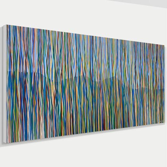 Wiangaree - 198 x 84cm acrylic on canvas Regular price
