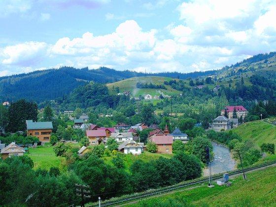 The Carpathians of Vorokhta