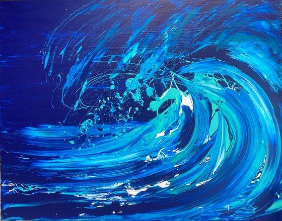 Wave Series - Breaking In The Moonlight