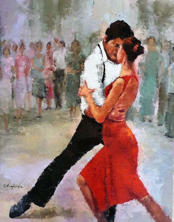In the arms of Tango