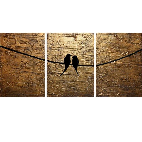"""Aztec Birds  48 x 20"""""""