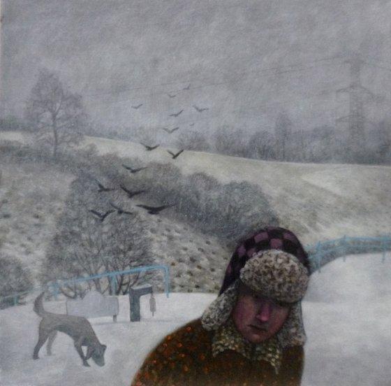 Morning Walk - Memories of Winter