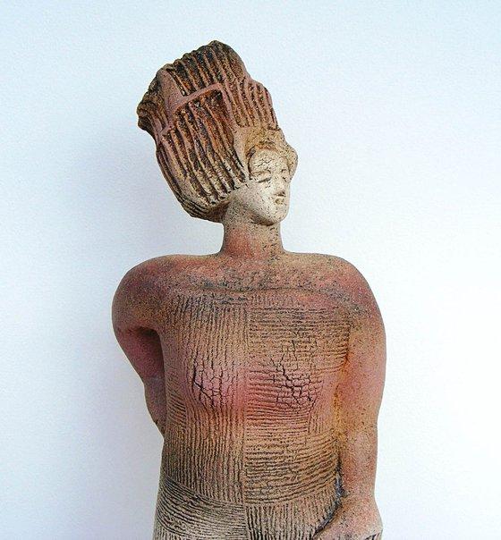Ceramic Sculpture  -  Ariadne saves Theseus