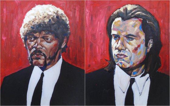 Jules and Vincent. Pulp Fiction.