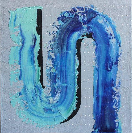 'Blue river'