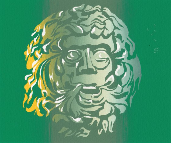 The Green Men of Langley Marish 1