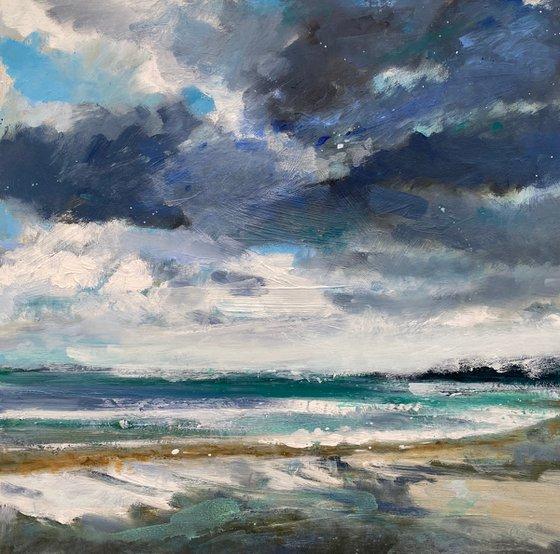 Rain clouds Over Porthminster Beach