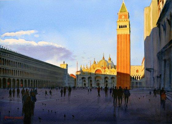 Fleeting light, Piazza San Marco, Venice