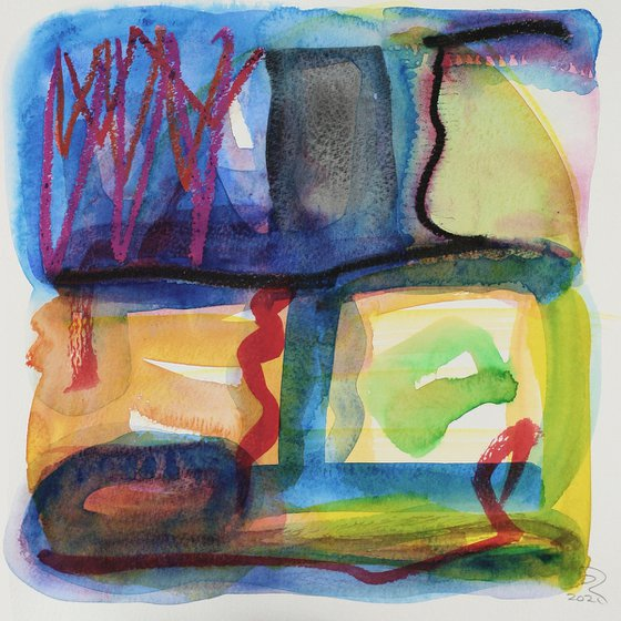 Two Woodlands - Unmounted