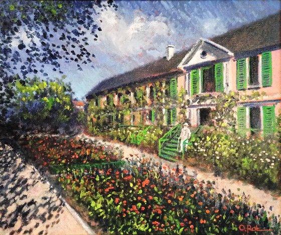 Visiting Monet