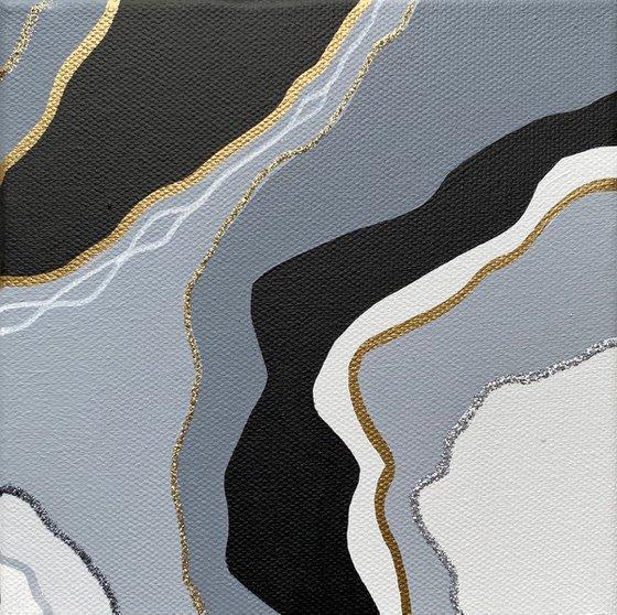 Grey geode 1