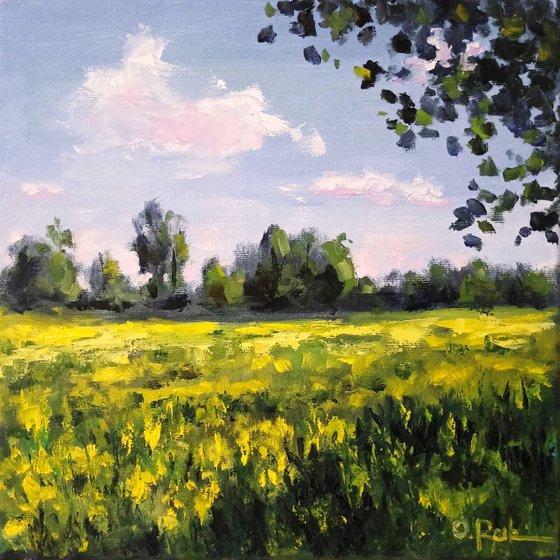 Blooming meadow