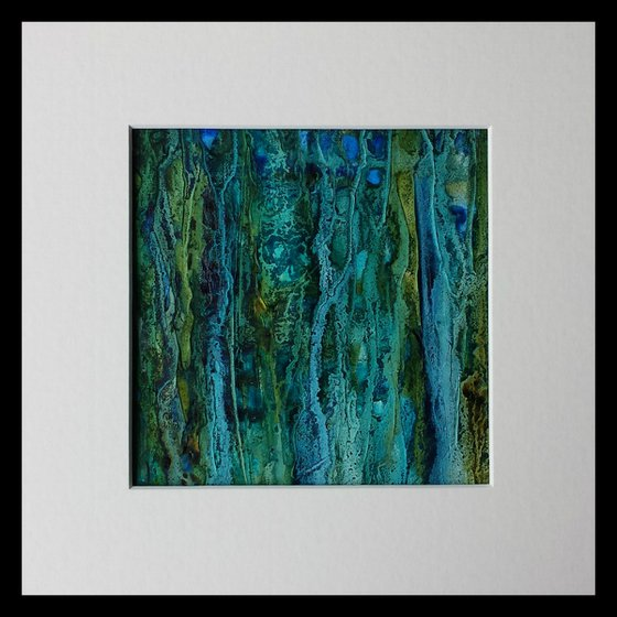 Forest Flow, abstract painting