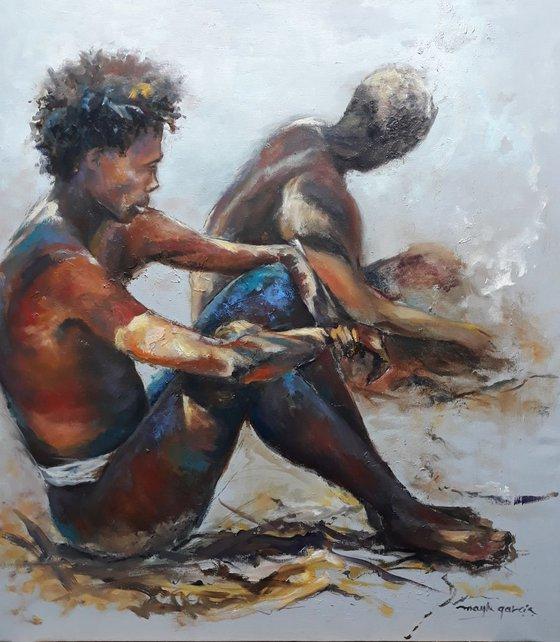 BUSHMEN IN NAMIBIA
