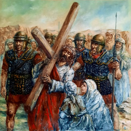 The station of the cross