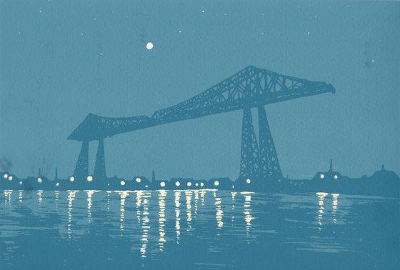 The Tees Transporter Bridge