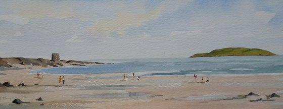 Portmarnock Beach and Martello