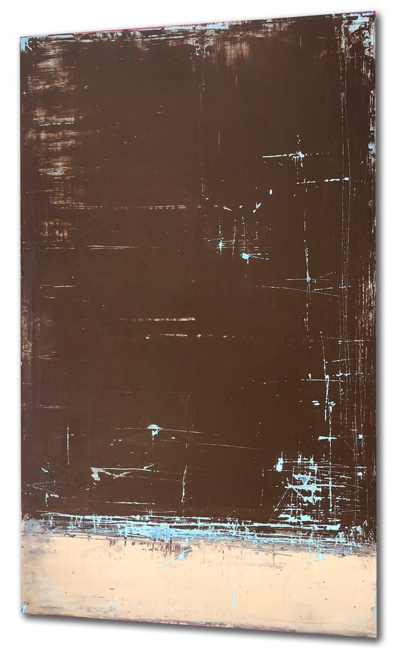 Weathered Brown & Beige (30x48in)