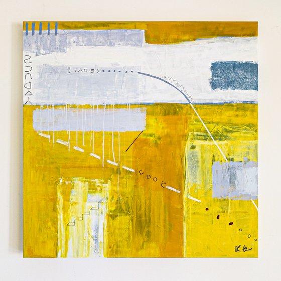 "Abstract Painting - Oblivion (Original, 36""x36""   91x91 cm)"