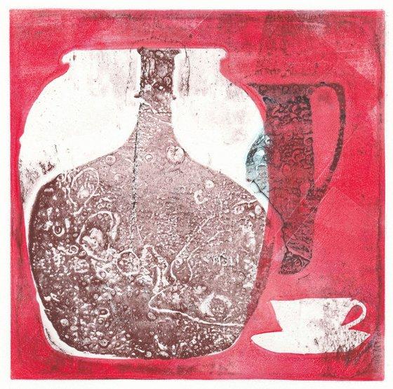 Monoprint - Still life no. 22