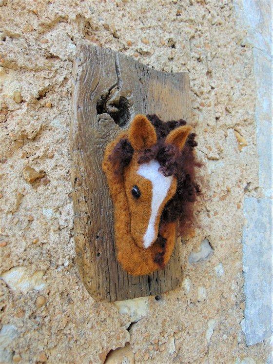 Chestnut stallion
