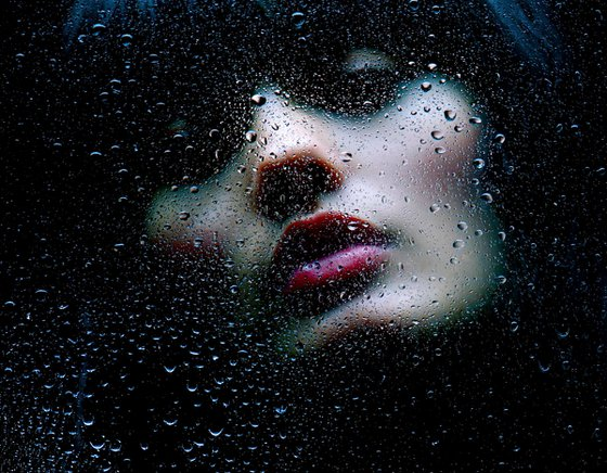 After The Midnight Rain - By TOMAAS prints under acrylic glass for sale