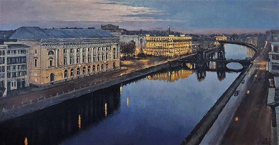 Санкт-Петербург вечер
