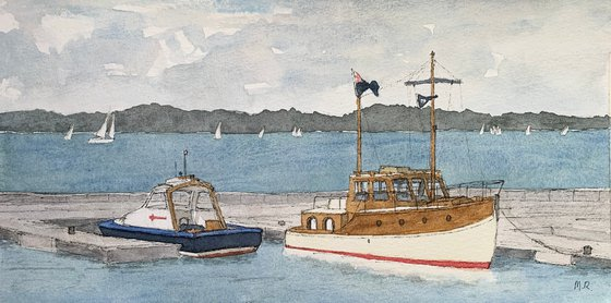 The Motor Launch at Cowes