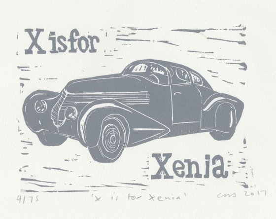 X is for Xenia