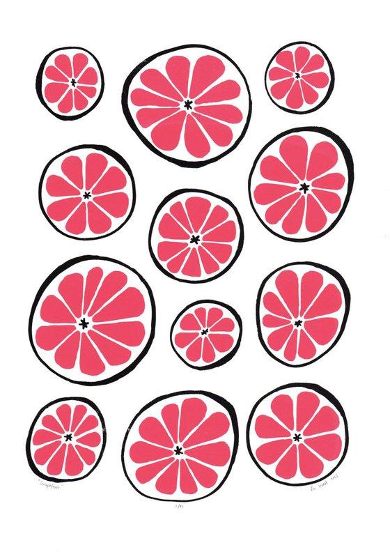 Grapefruit - Unframed - FREE Worldwide Delivery