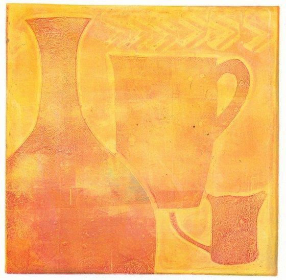 Monoprint - Still life no. 11