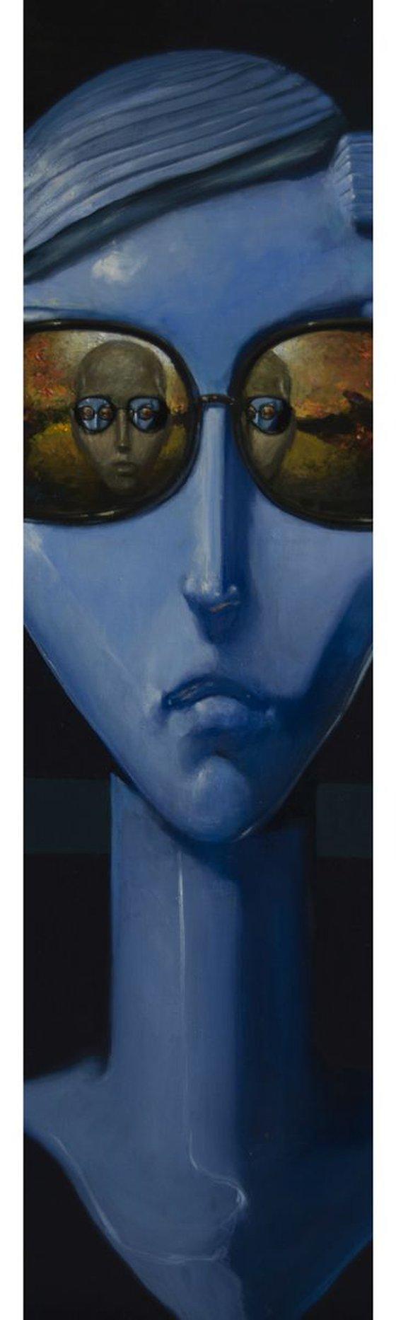 Cyberlove (32x112 cm)
