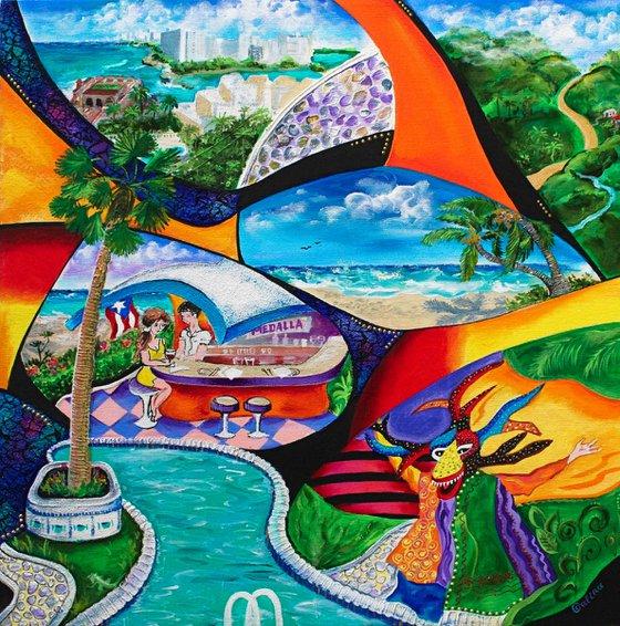 Isla del Encanto - Puerto Rico Art