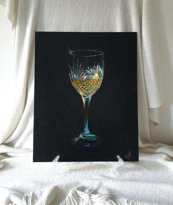 Crystal, oils on canvas