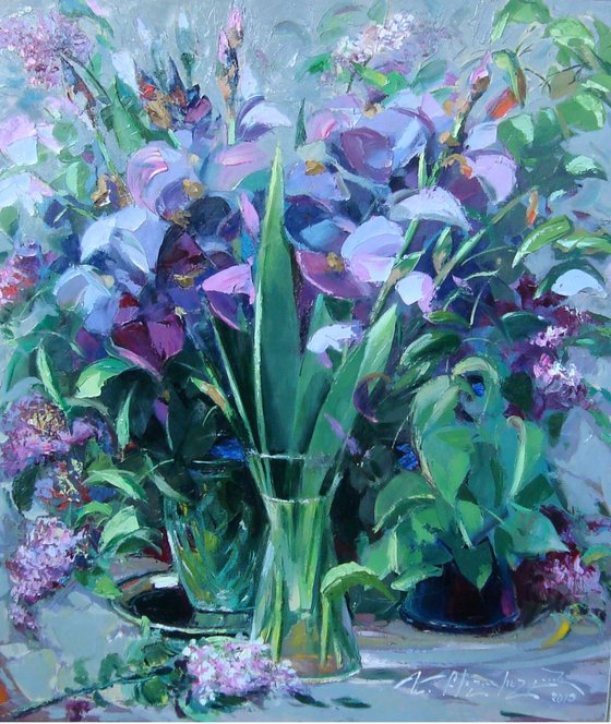 Lilies (70x80 cm)